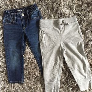 Gap Jeans and sweats